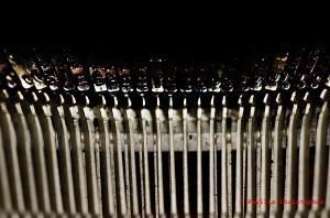 Archive Typewriter Keys