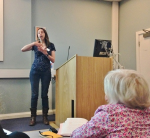 Katherine Curran presents, 'Does the British Library Need a Nose?'